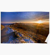Malvern Hills: Golden Light Poster