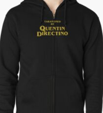 Inglourious Basterds | Tarantined by Quentin Directino Zipped Hoodie