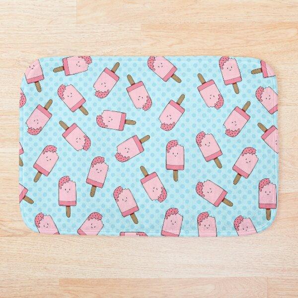 Ice cream pattern Bath Mat