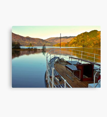 I am Sailing (Ullswater) Canvas Print