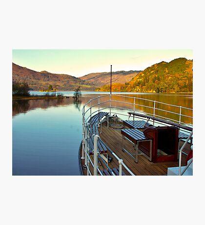 I am Sailing (Ullswater) Photographic Print