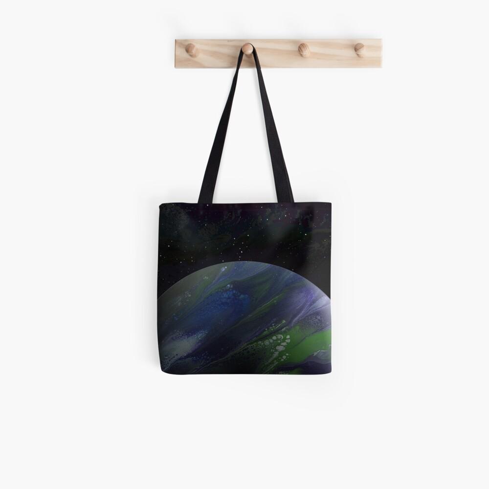 Terra Nova: planet painting Tote Bag