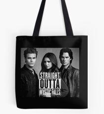 Straight Outta Mystic Falls - The Vampire Diaries Tote Bag