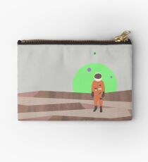 Marooned Astronaut (alone 2015) Zipper Pouch
