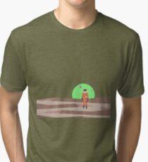 Marooned Astronaut (alone 2015) Tri-blend T-Shirt