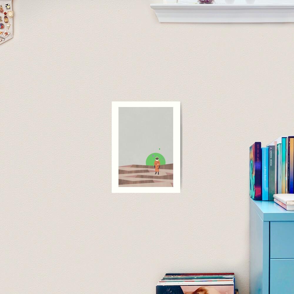 Marooned Astronaut (alone 2015) Art Print