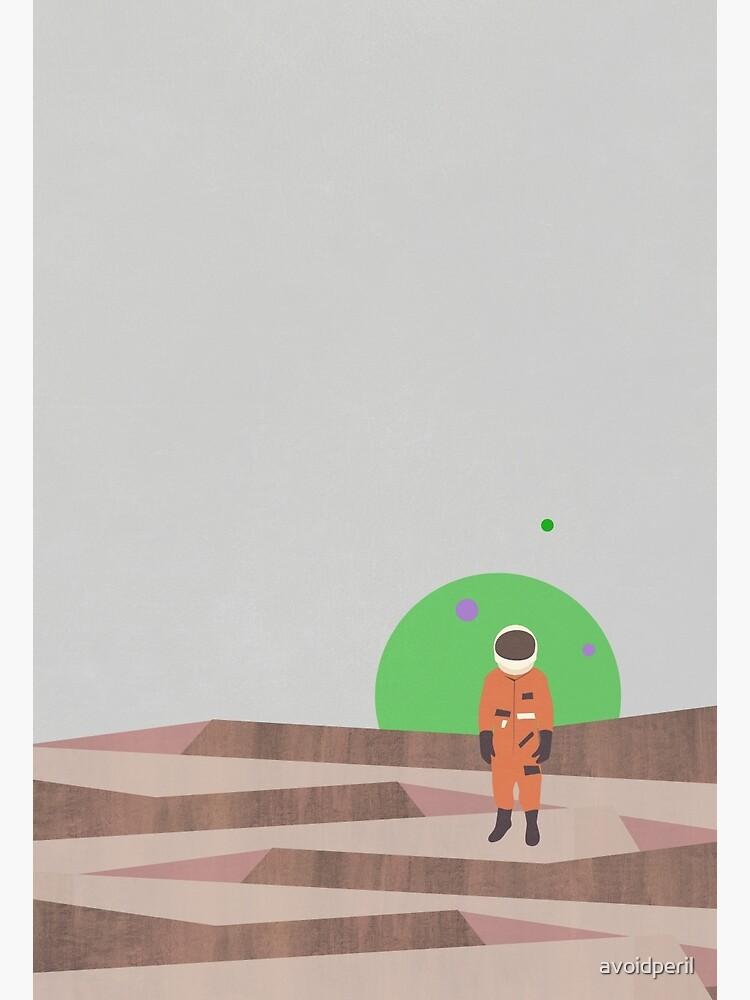 Marooned Astronaut (alone 2015) by avoidperil