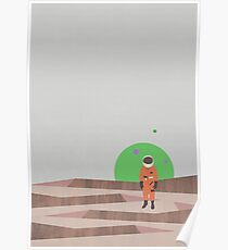 Marooned Astronaut (alone 2015) Poster