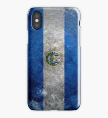 El Salvador Grunge iPhone Case/Skin