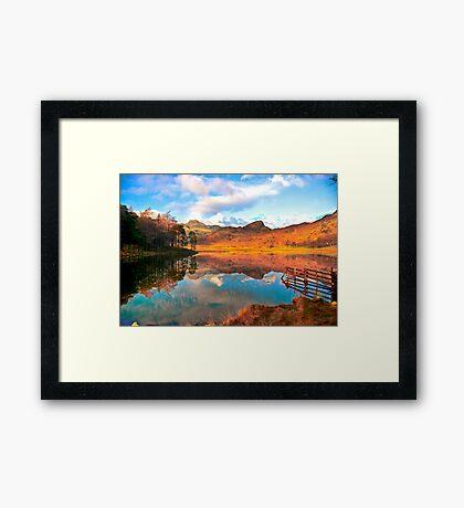 Blea Tarn - Lake District Cumbria. Framed Print