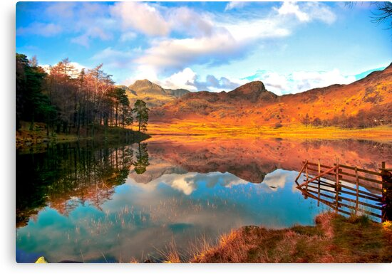 Blea Tarn - Lake District Cumbria. by Trevor Kersley