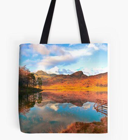 Blea Tarn - Lake District Cumbria. Tote Bag