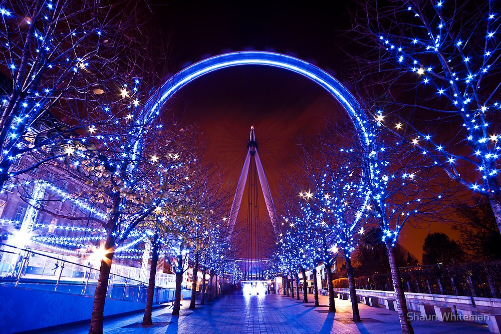 Quot Christmas Time At The London Eye Quot By Shaun Whiteman