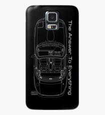 The Answer is Always MX5 (Dark) Case/Skin for Samsung Galaxy