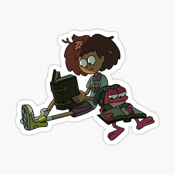 Anne and Sprig Sticker