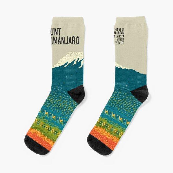 Mount Kilimanjaro Socks