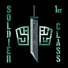 Final Fantasy VII - Soldier 1st Class by gysahlgreens