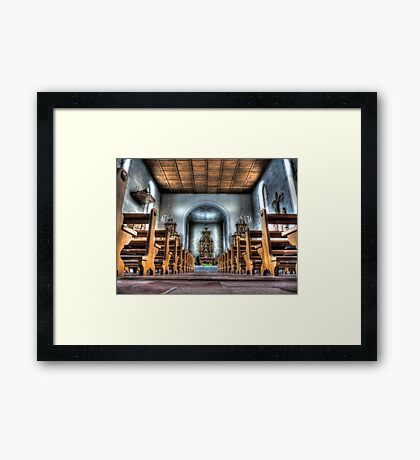 Let the little children come to me. Framed Print
