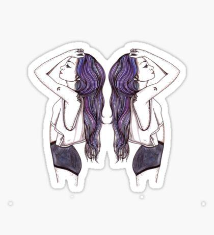 Twins Sticker