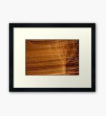 Suburb Light Series - Xmas Wind Framed Print