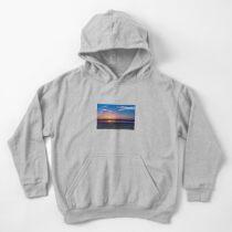 Sea Sunset Kids Pullover Hoodie