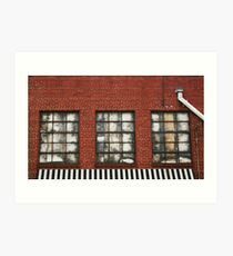 Insulated Abstract -  a.k.a Window Piano Art Print
