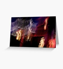 Suburb Christmas Light Series - The Shepherd's Company Greeting Card