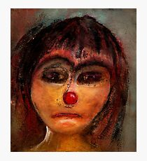 the red nose Photographic Print