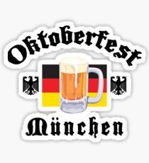 Oktoberfest Munchen Sticker