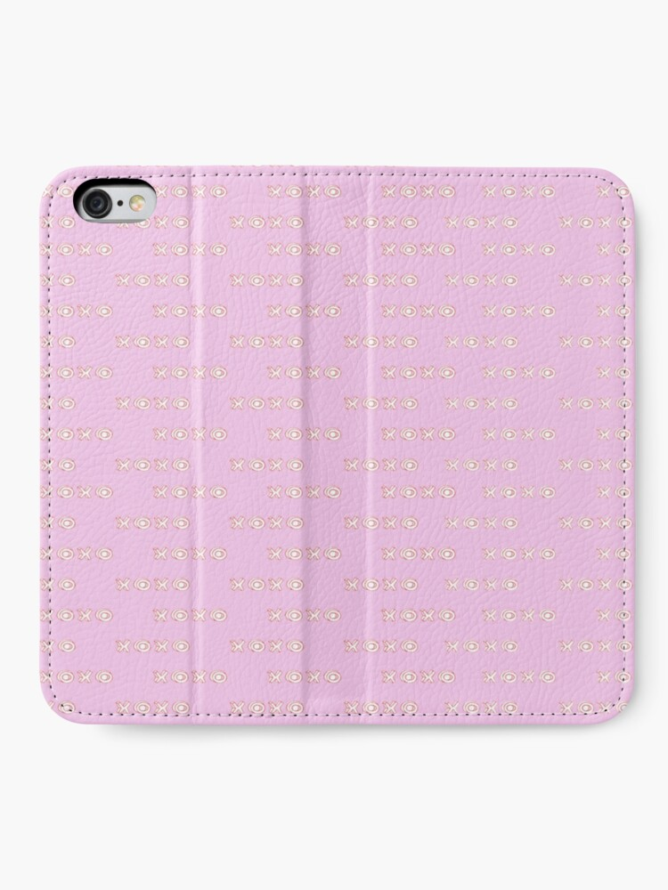Alternate view of pink xoxo iPhone Wallet
