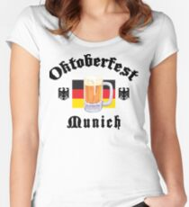 Oktoberfest Munich Women's Fitted Scoop T-Shirt
