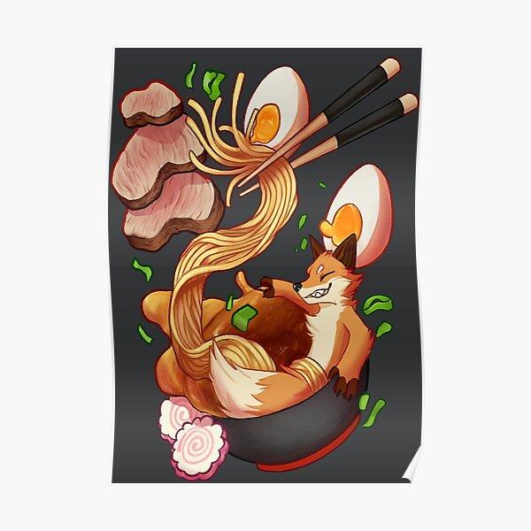 Ramen Fox Poster
