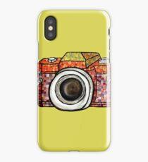 Patchwork Camera iPhone Case/Skin