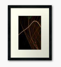 Suburb Christmas Light Series - Xmas Hook Framed Print