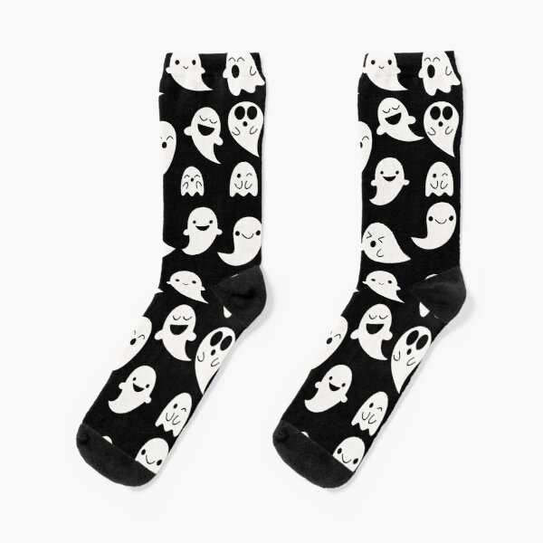Cute Kawaii Ghost pattern Socks
