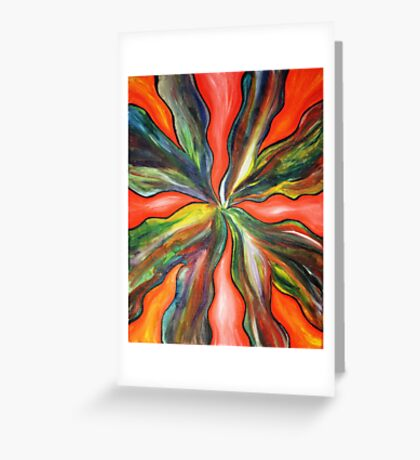 It's on Fire Greeting Card