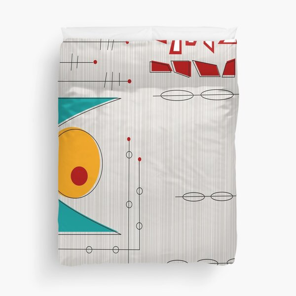 Aligning of the Planet Duvet Cover