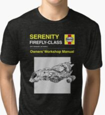 Serenity - Owners' Manual Tri-blend T-Shirt