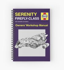 Serenity - Owners' Manual Spiral Notebook
