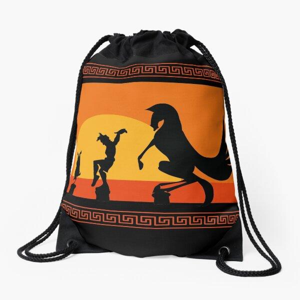 Hercules Sunset Drawstring Bag
