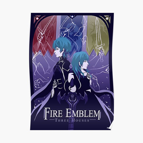Fire Emblem Three Houses Póster