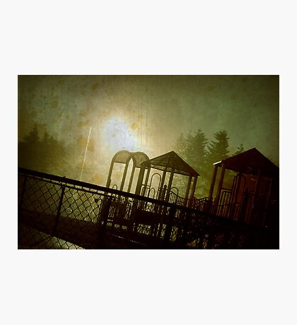 The Park at Night Photographic Print