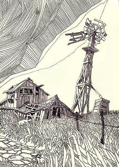 West Texas Windmill ... by mrbill78636