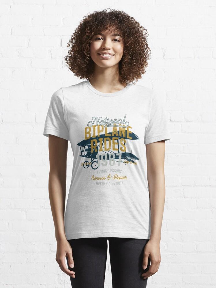 Alternative Ansicht von Biplane Rides Essential T-Shirt