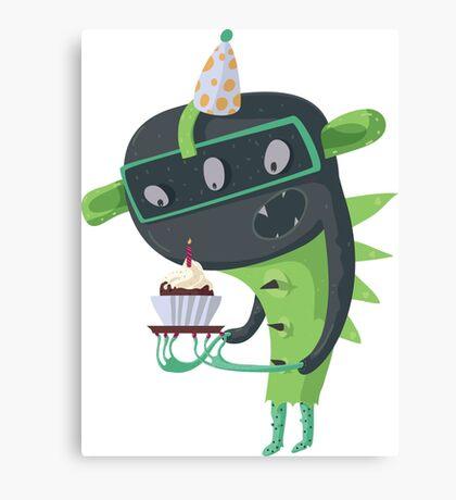 Happy birthday to me! Canvas Print