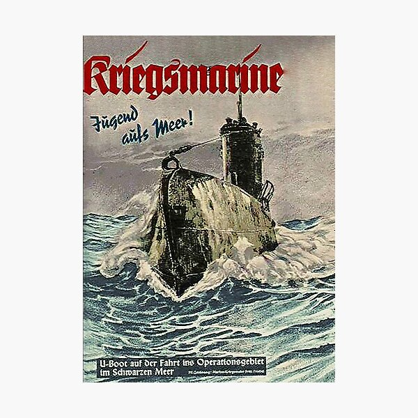 U Boat ...German Kriegsmarine WWII Photographic Print