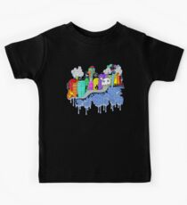 This City is Industrious.  Kids Clothes