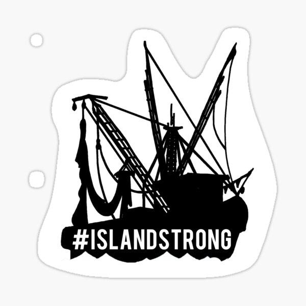 Island Strong Sticker