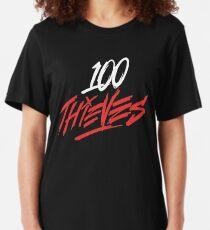Camiseta ajustada 100 ladrones