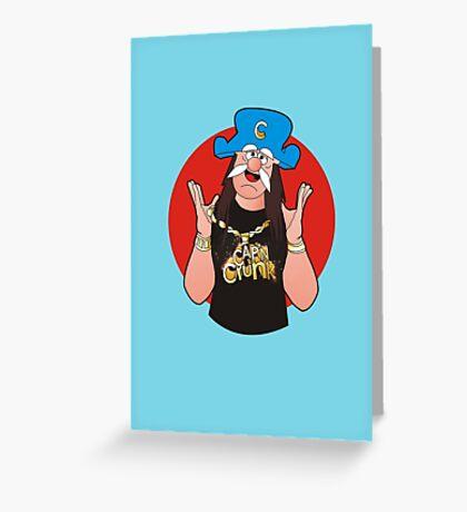 Cap'N CruNk Greeting Card